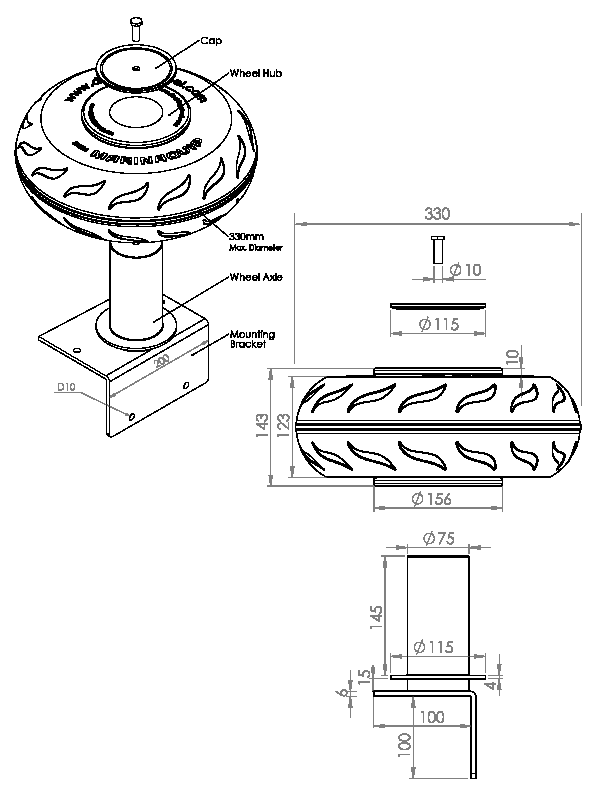 Boat Mounting Plate
